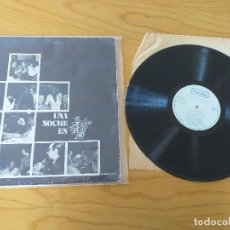Discos de vinilo: UNA NOCHE EN PUB 2'40- INTERDISC 1973 - GRABACION EN VIVO- LUIS SAGNIER, PERUCHO,ETC..- PROMOCIONAL. Lote 265184019