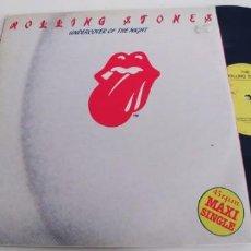 Discos de vinilo: ROLLING STONES-MAXI UNDERCOVER OF THE NIGHT. Lote 265188344