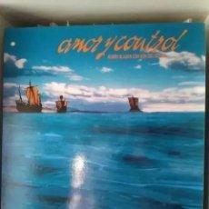 Discos de vinilo: RUBEN BLADES CON SON DEL SOLAR - AMOR Y CONTROL (LP) 1992. Lote 265194459