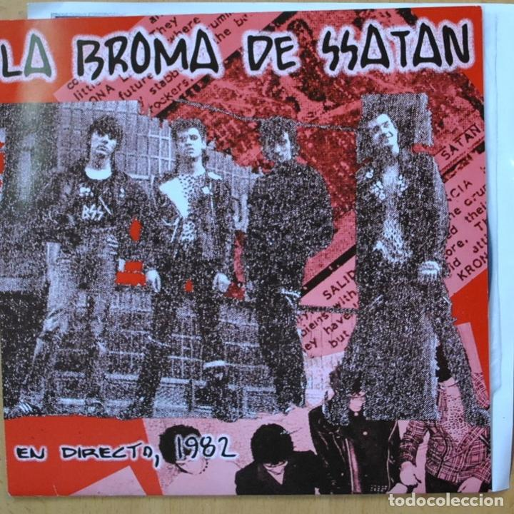 LA BROMA DE SSATAN - YA NO TE QUIERO - SINGLE (Música - Discos - Singles Vinilo - Punk - Hard Core)
