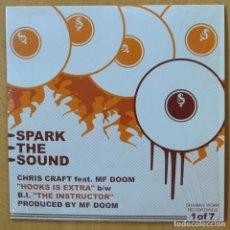 Discos de vinilo: VARIOS - SPARK THE SOUND - EP. Lote 265197184