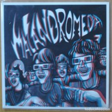 Discos de vinil: MALANDROMEDA - FESTA MALANDROMICA - SINGLE. Lote 265197204
