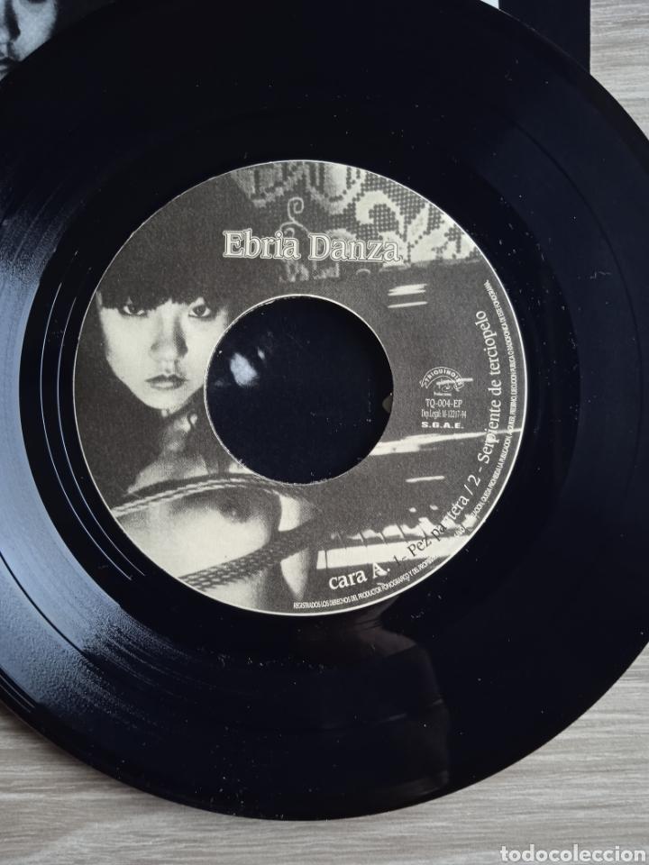 Discos de vinilo: Ebria danza - Fragilidad suicida, EP, Triquinoise Producciones, 1994. Spain. - Foto 4 - 265199224