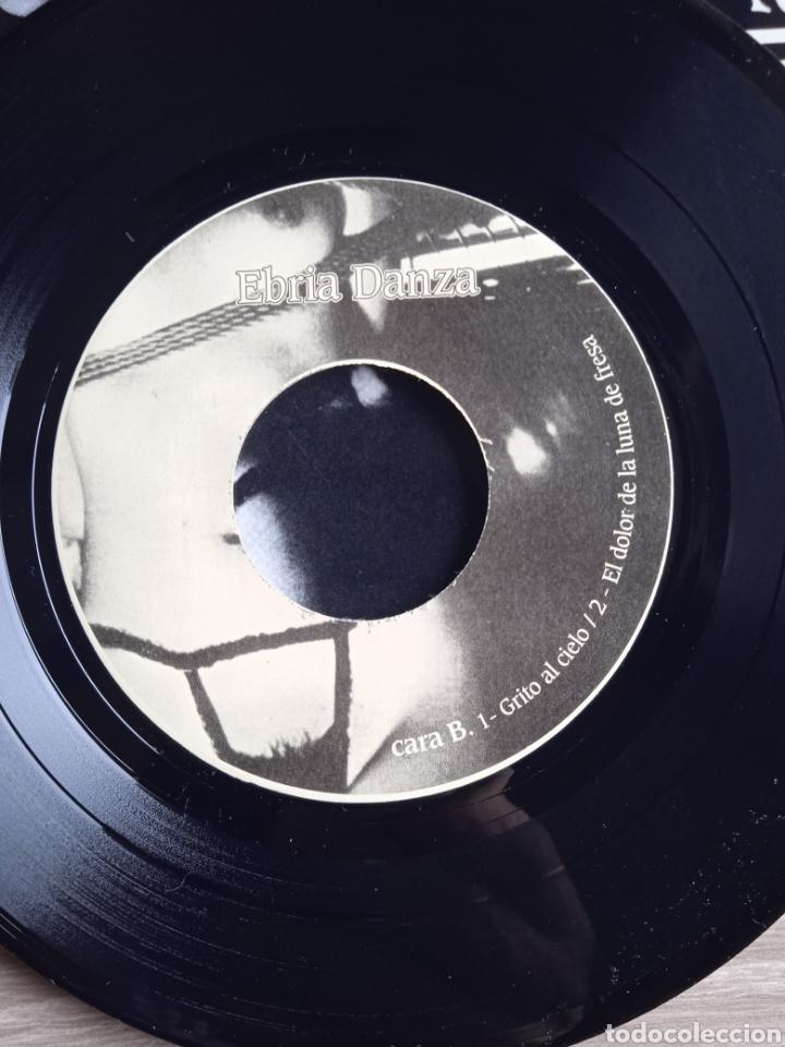 Discos de vinilo: Ebria danza - Fragilidad suicida, EP, Triquinoise Producciones, 1994. Spain. - Foto 5 - 265199224