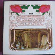 Disques de vinyle: BOX SET - RICHARD STRAUSS - EL CABALLERO DE LA ROSA (CONTIENE 4 LP'S + LIBRETO, SPAIN DECCA 1973). Lote 265207884