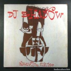 Discos de vinilo: DJ SHADOW - PREEMPTIVE STRIKE - DOBLE LP 2XLP CANADA 1997 - MO WAX (GATEFOLD). Lote 265211674