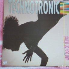 Disques de vinyle: TECHNOTRONIC,PUMP UP THE JAM EDICION ESPAÑOLA DEL 89. Lote 265211964
