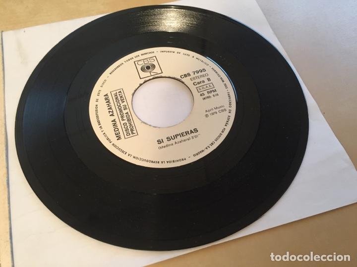 """Discos de vinilo: Medina Azahara - Paseando por la Mezquita - PROMO SINGLE 7"""" - SPAIN 1979 CBS - Foto 4 - 265218554"""