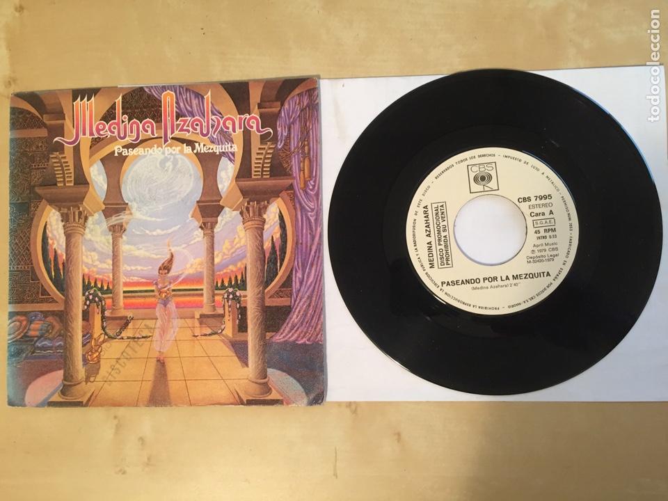 """MEDINA AZAHARA - PASEANDO POR LA MEZQUITA - PROMO SINGLE 7"""" - SPAIN 1979 CBS (Música - Discos - Singles Vinilo - Heavy - Metal)"""