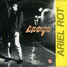 Disques de vinyle: ARIEL ROT / FANTASMAS / PECES (SINGLE PROMO 1984). Lote 265322889
