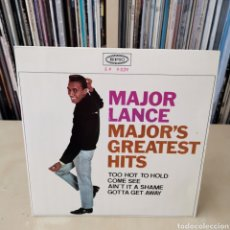 Discos de vinilo: MAJOR LANCE EP TOO HOT TO HOLD + 3 SPAIN ED 60,S. Lote 265328544