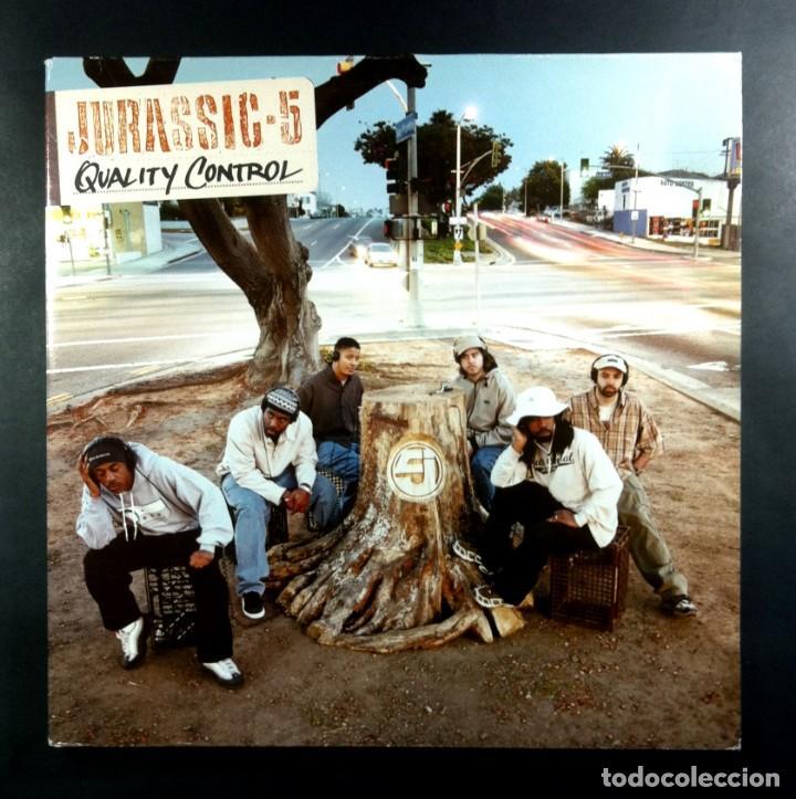 JURASSIC 5 - QUALITY CONTROL - DOBLE LP 2XLP 2000 - INTERSCOPE (GATEFOLD) (Música - Discos - LP Vinilo - Rap / Hip Hop)