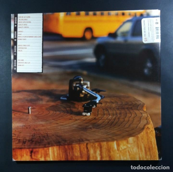 Discos de vinilo: JURASSIC 5 - Quality Control - DOBLE LP 2xLP 2000 - INTERSCOPE (gatefold) - Foto 2 - 265331004