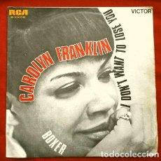 Discos de vinilo: CAROLYN FRANKLIN (SINGLE 1969) BOXER - I DON'T WANT TO LOSE YOU. Lote 265331384