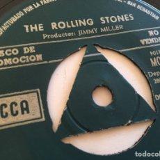 "Discos de vinilo: THE ROLLING STONES - STREET FIGHTING MAN (PROMOCIONAL) - SINGLE 7"" - SPAIN 1968 DECCA - UNICO. Lote 265335229"