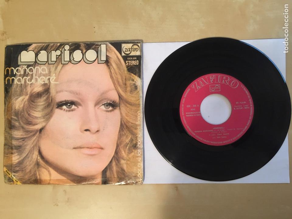 """MARISOL - MAÑANA MARCHARÉ - PROMO SINGLE 7"""" - SPAIN 1974 ZAFIRO (Música - Discos - Singles Vinilo - Solistas Españoles de los 50 y 60)"""