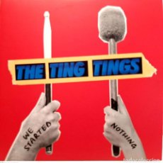 Discos de vinil: THE TING TINGS – WE STARTED NOTHING. Lote 265338169
