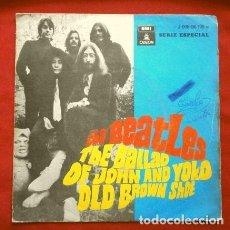 Discos de vinilo: THE BEATLES (SINGLE 1969) THE BALLAD OF JOHN AND YOKO - OLD BROWN SHOE. Lote 265338849