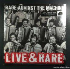 Discos de vinilo: RAGE AGAINST THE MACHINE - LIVE & RARE - DOBLE LP 2018 - EPIC (RECORD STORE DAY) NUEVO / PRECINTADO. Lote 265339989