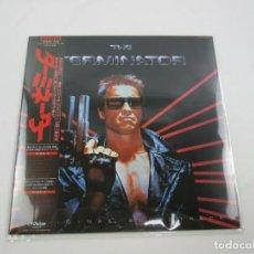 Discos de vinilo: VINILO EDICIÓN JAPONESA DEL LP DE LA BSO THE TERMINATOR ( BRAD FIEDEL ). Lote 265346479