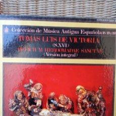 Discos de vinilo: TOMAS LUIS DE VICTORIA. Lote 265350499