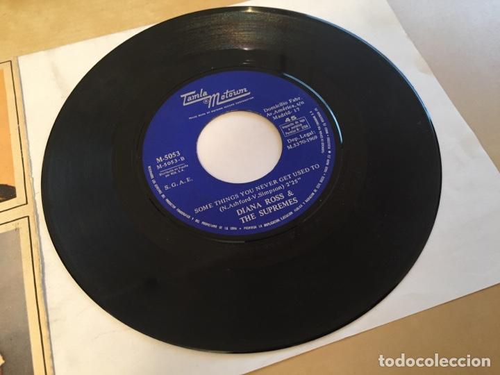 "Discos de vinilo: Diana Ross & The Supremes - I'm Livin' In Shame - PROMO SINGLE 7"" - SPAIN 1969 Tamla Motown - Foto 4 - 265357789"