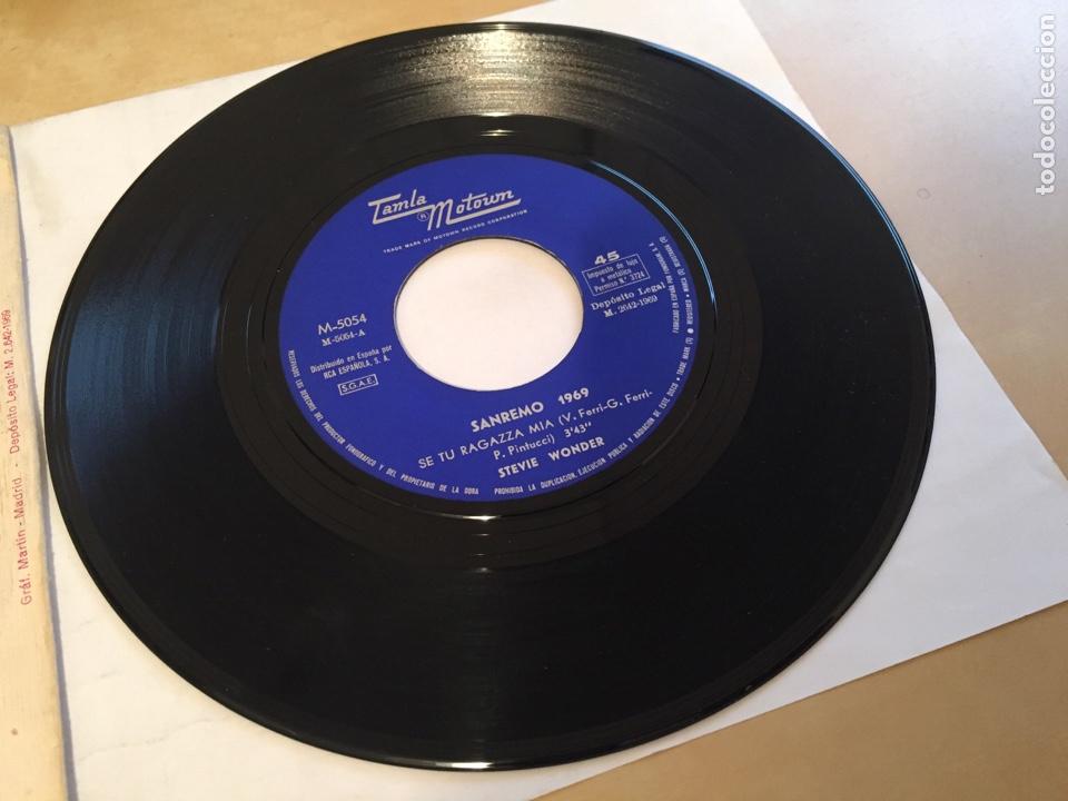 "Discos de vinilo: Stevie Wonder - I Don't Know Why - PROMO SINGLE 7"" - SPAIN 1969 Tamla Motown - Foto 4 - 265359454"