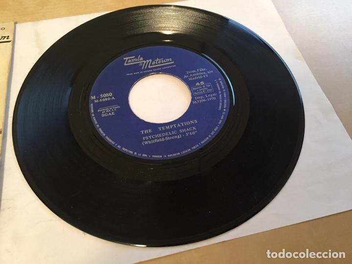 """Discos de vinilo: The Temptations - Psychedelic Shack - SINGLE 7"""" - SPAIN 1970 Tamla Motown - Foto 2 - 265360389"""