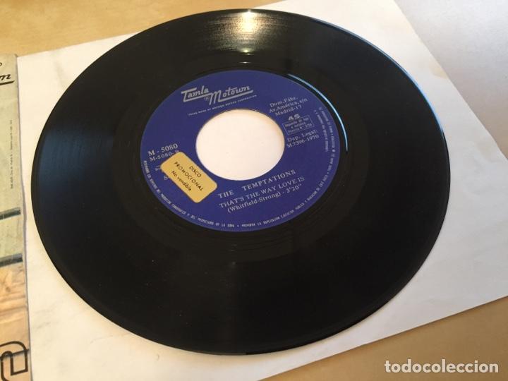 """Discos de vinilo: The Temptations - Psychedelic Shack - SINGLE 7"""" - SPAIN 1970 Tamla Motown - Foto 4 - 265360389"""