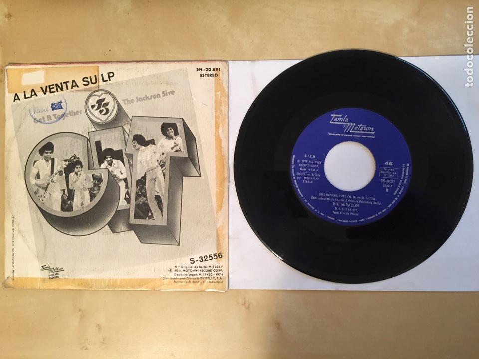 """Discos de vinilo: The Jackson 5 - Dancing Machine - SINGLE 7"""" - SPAIN 1976 Tamla Motown - Foto 3 - 265361549"""
