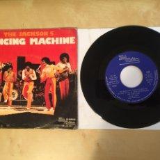 "Dischi in vinile: THE JACKSON 5 - DANCING MACHINE - SINGLE 7"" - SPAIN 1976 TAMLA MOTOWN. Lote 265361549"