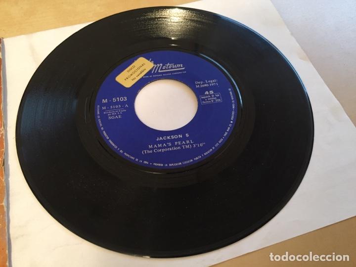 """Discos de vinilo: Jackson 5 - Mama's Pearl - PROMO SINGLE 7"""" - SPAIN 1971 Tamla Motown - Foto 2 - 265362494"""