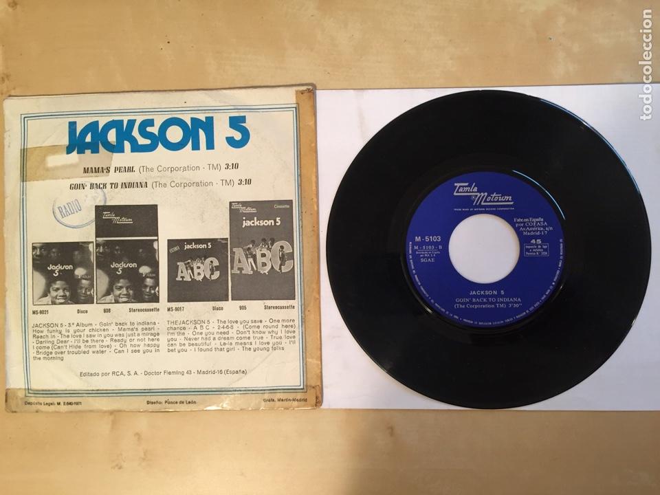 """Discos de vinilo: Jackson 5 - Mama's Pearl - PROMO SINGLE 7"""" - SPAIN 1971 Tamla Motown - Foto 3 - 265362494"""