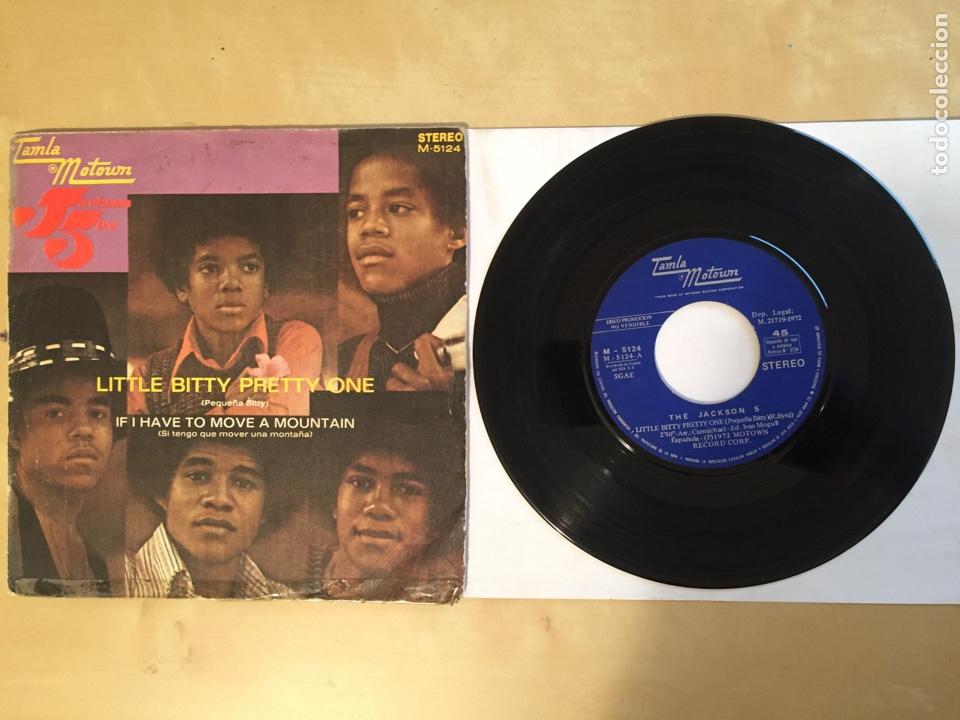 "THE JACKSON 5 - LITTLE BITTY PRETTY ONE - SINGLE 7"" - SPAIN 1972 TAMLA MOTOWN (Música - Discos - Singles Vinilo - Funk, Soul y Black Music)"