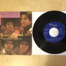 "Discos de vinilo: THE JACKSON 5 - LITTLE BITTY PRETTY ONE - SINGLE 7"" - SPAIN 1972 TAMLA MOTOWN. Lote 265363674"