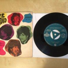 "Discos de vinilo: LITTLE RICHARD - GOOD GOLLY MISS / LUCILLE - PROMO SINGLE 7"" - SPAIN 1968. Lote 265365324"