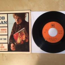 "Discos de vinilo: BOB DYLAN - RAINY DAY +3 (EP)PROMO SINGLE 7"" SPAIN 1966 CBS. Lote 265368459"