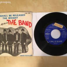 """Discos de vinilo: THE BAND - I SHALL BE RELEASED / THE WEIGHT - PROMO SINGLE 7"""" SPAIN 1968 CAPITOL RECORDS. Lote 265369214"""