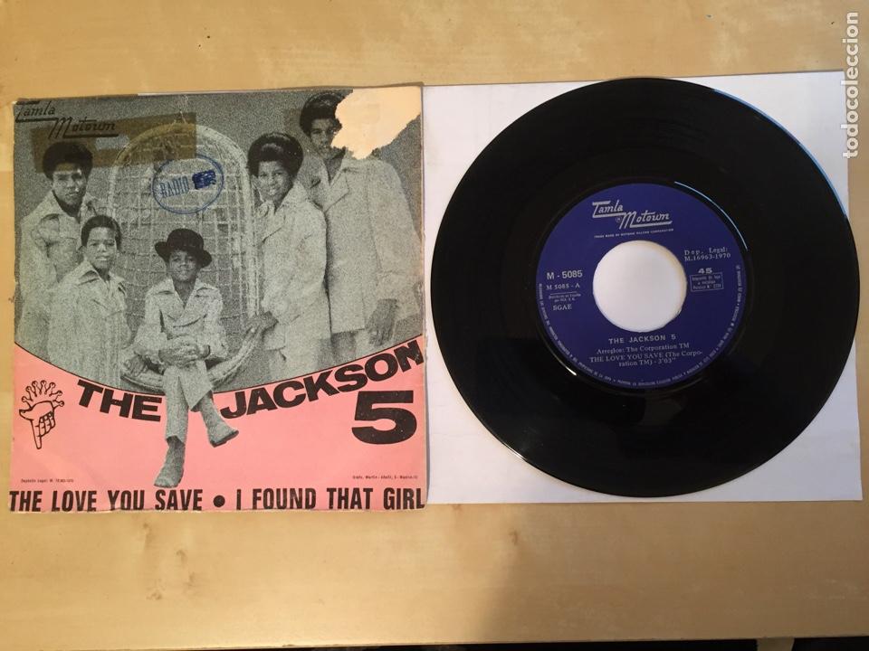 "Discos de vinilo: The Jackson 5 - The Love You Save - PROMO SINGLE 7"" SPAIN 1970 - Foto 3 - 265370089"