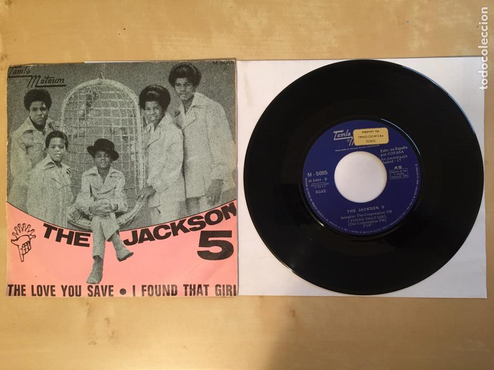 "THE JACKSON 5 - THE LOVE YOU SAVE - PROMO SINGLE 7"" SPAIN 1970 (Música - Discos - Singles Vinilo - Funk, Soul y Black Music)"