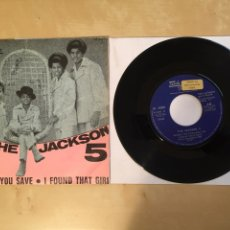 "Discos de vinilo: THE JACKSON 5 - THE LOVE YOU SAVE - PROMO SINGLE 7"" SPAIN 1970. Lote 265370089"