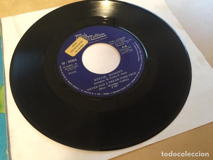 """Discos de vinilo: Stevie Wonder - Signed Sealed Delivered I'm Yours - PROMO SINGLE 7"""" SPAIN 1970 - Foto 2 - 265371444"""