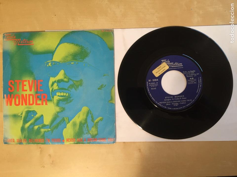 """STEVIE WONDER - SIGNED SEALED DELIVERED I'M YOURS - PROMO SINGLE 7"""" SPAIN 1970 (Música - Discos - Singles Vinilo - Funk, Soul y Black Music)"""
