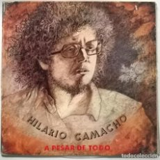 Disques de vinyle: HILARIO CAMACHO. A PESAR DE TODO. EXPLOSION, SPAIN 1974 PRIMER LP ORIGINAL + TRIPLE CUBIERTA. Lote 265381194