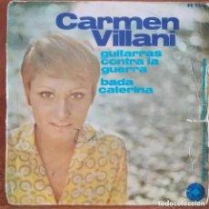 Discos de vinilo: CARMEN VILLANI - GUITARRAS CONTRA LA GUERRA (SG) 1966. Lote 265386449