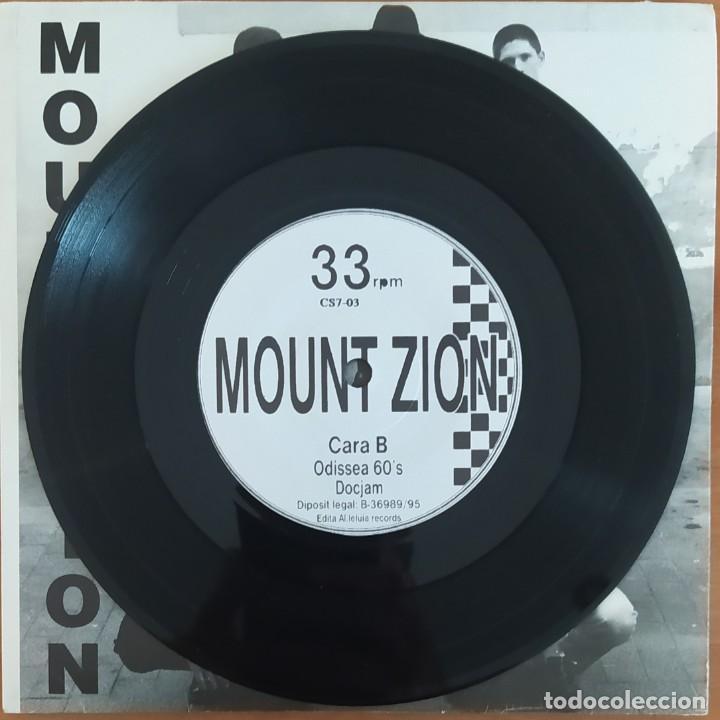 Discos de vinilo: EP 7 MOUNT ZION - MOUNT ZION - 1995 - EXCELENTE ESTADO - Foto 3 - 265409074