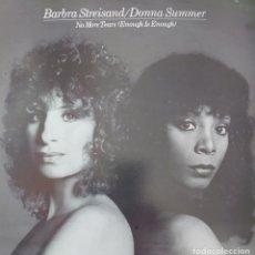 Discos de vinilo: BARBARA STREISAND Y DONNA SUMMER MAXI-SINGLE EDITADO EN ESPAÑA POR EL SELLO CBS AÑO 1979.... Lote 265444949