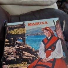 Discos de vinilo: CARPETA CON DOS VINILOS, MARUXA, A ESTRENAR. Lote 265467479