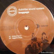 Discos de vinilo: DUBTRIBE SOUND SYSTEM, BAGGAGE, UK 2003, SÓLO DISCO 1, EXCELENTE ESTADO. (EX_EX). Lote 265478184