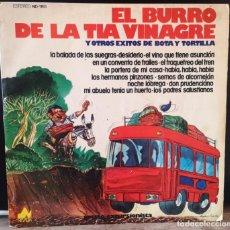 Discos de vinilo: LP EL BURRO DE LA TIA VINAGRE. Lote 265483959
